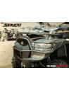 BUMPER AVANT MXU 550 / 700 (noir givré)