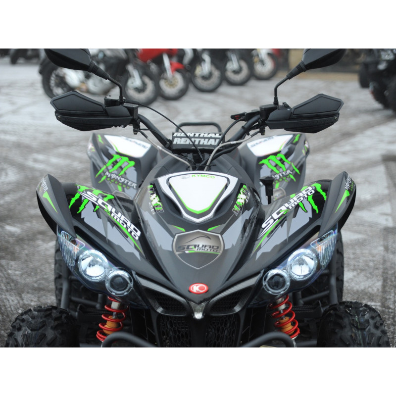 kit deco kymco maxxer 450 monster energy vert. Black Bedroom Furniture Sets. Home Design Ideas