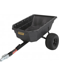 REMORQUE MOOSE POLY SWIVEL DUMP TRAILER