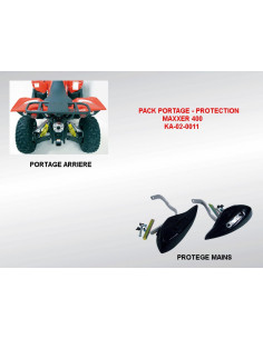 MAXXER 400 / 450 - PACK PORTAGE / PROTECTION