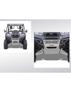 PLAQUE ALU PROTECTION BUMPER UXV 500 / 700