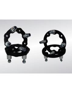 JEU D'ELARGISSEURS AV ACIER 145 X 35mm KXR/MAXXER/MXU 250/300