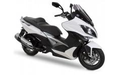 Accessoires et équipements d'origine pour maxi-scooter Kymco